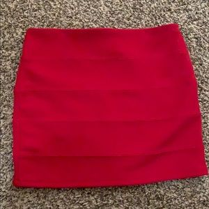Dresses & Skirts - Red mini skirt